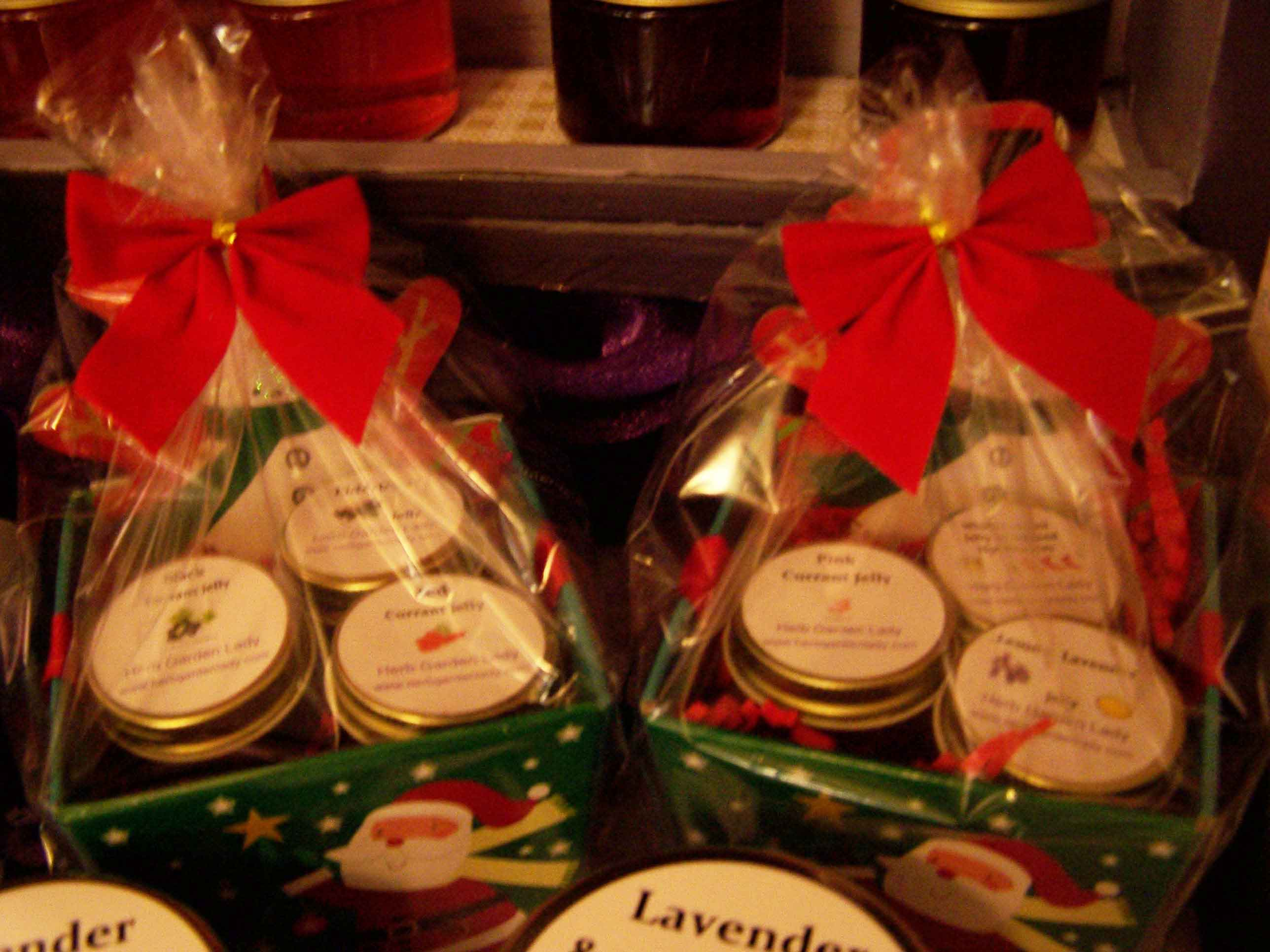 Holiday craft show at the St. John the Evangelist in Northfield, VT by Herb Garden Lady