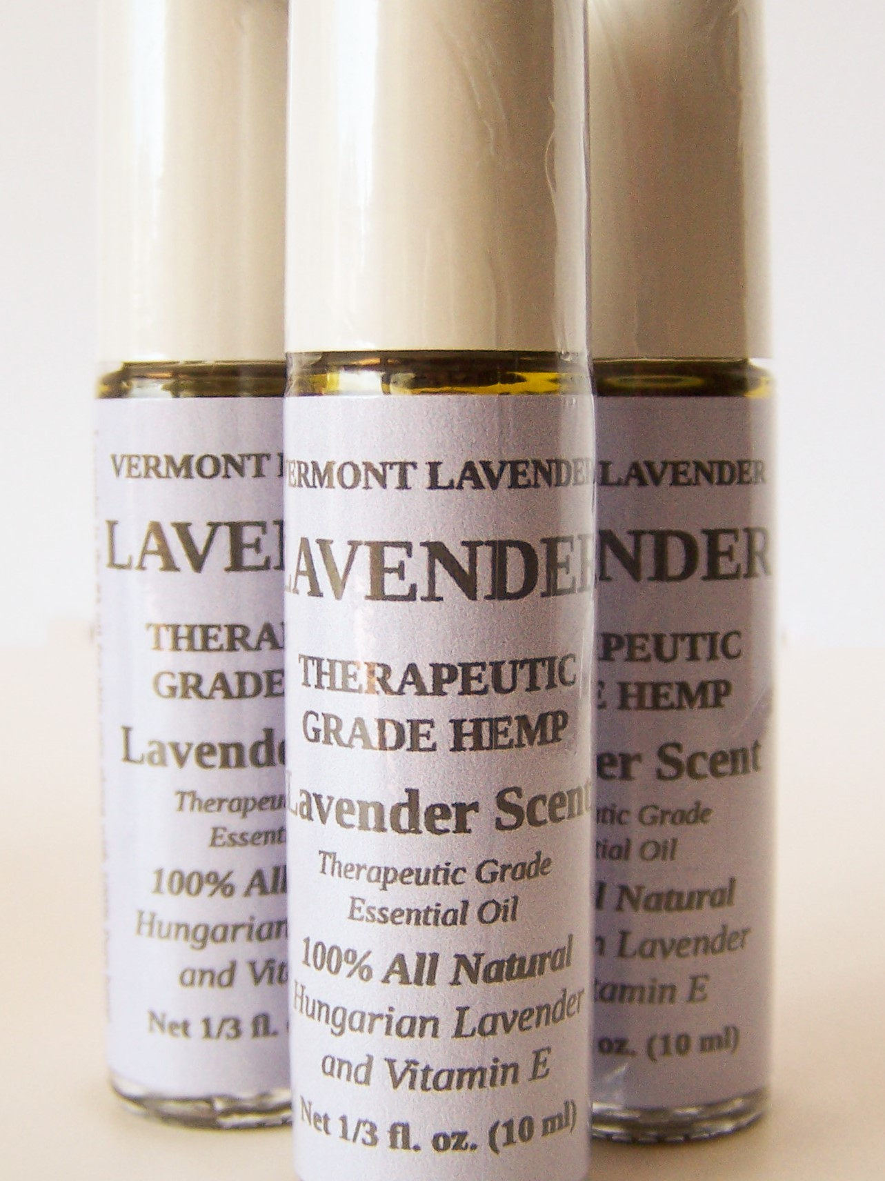 Hemp Therapeutic Oil - LAVENDER