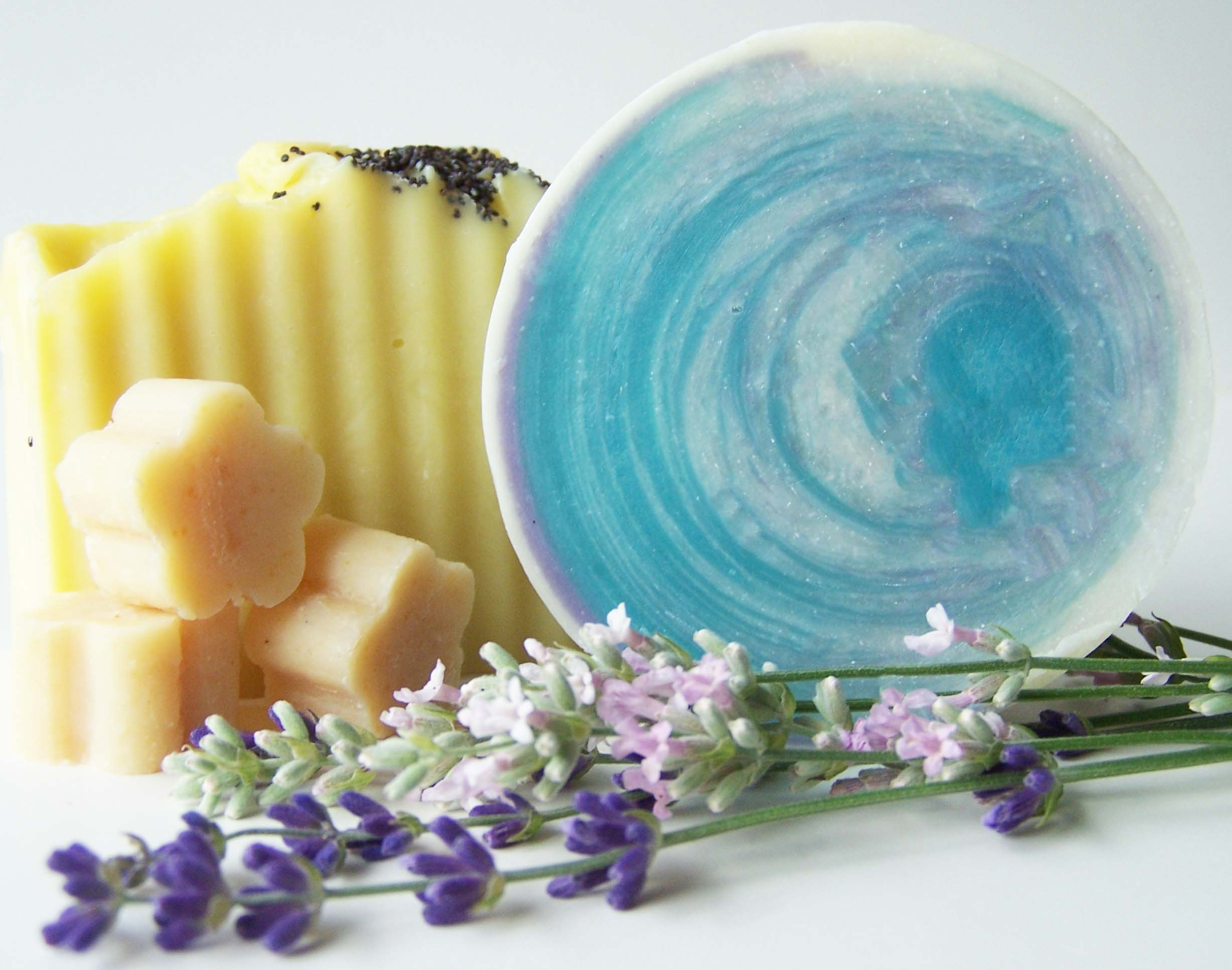Vermont lavender sells sugars, teas, jelly and handmade soaps.