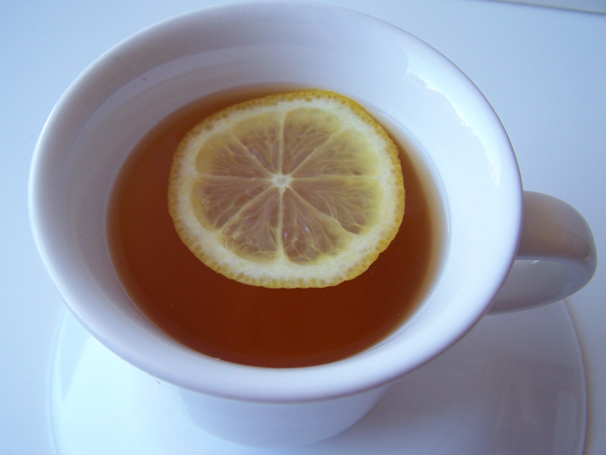Calming lavender green herbal tea