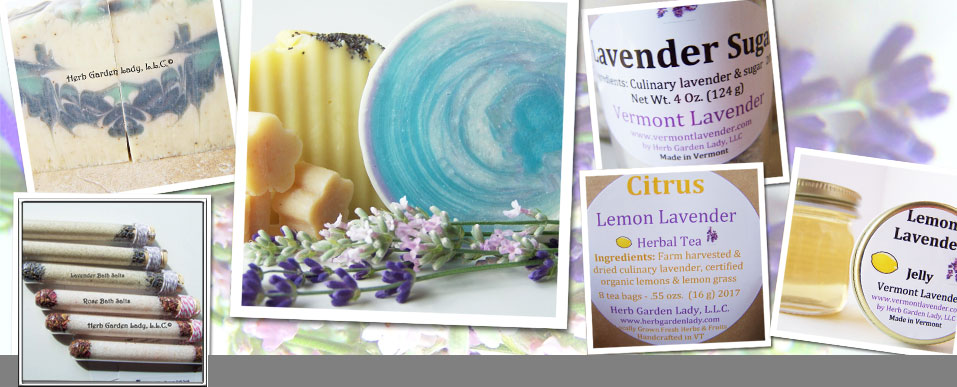 Click here to visit Vermont Lavender handmade products.